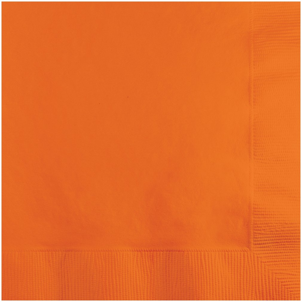 Orange Party Napkins B004X8GPXQ