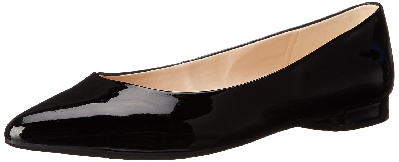 Nine West Onlee sintético del dedo del pie puntiagudo plana 37 EU|Black