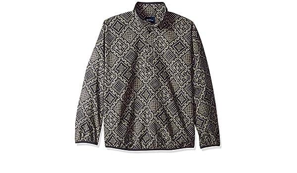 93c0a1ee0 Reyn Spooner Diagonal Lahaina Nylon Pullover Jacket - Obsidian at Amazon Men's  Clothing store: