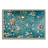 Tangletown Fine Art Blossom I Galería de lienzos, azul / rosa