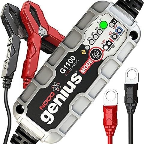 NOCO Genius G1100 6V/12V 1.1A UltraSafe Smart Battery Charger (Bt Diagnostic)