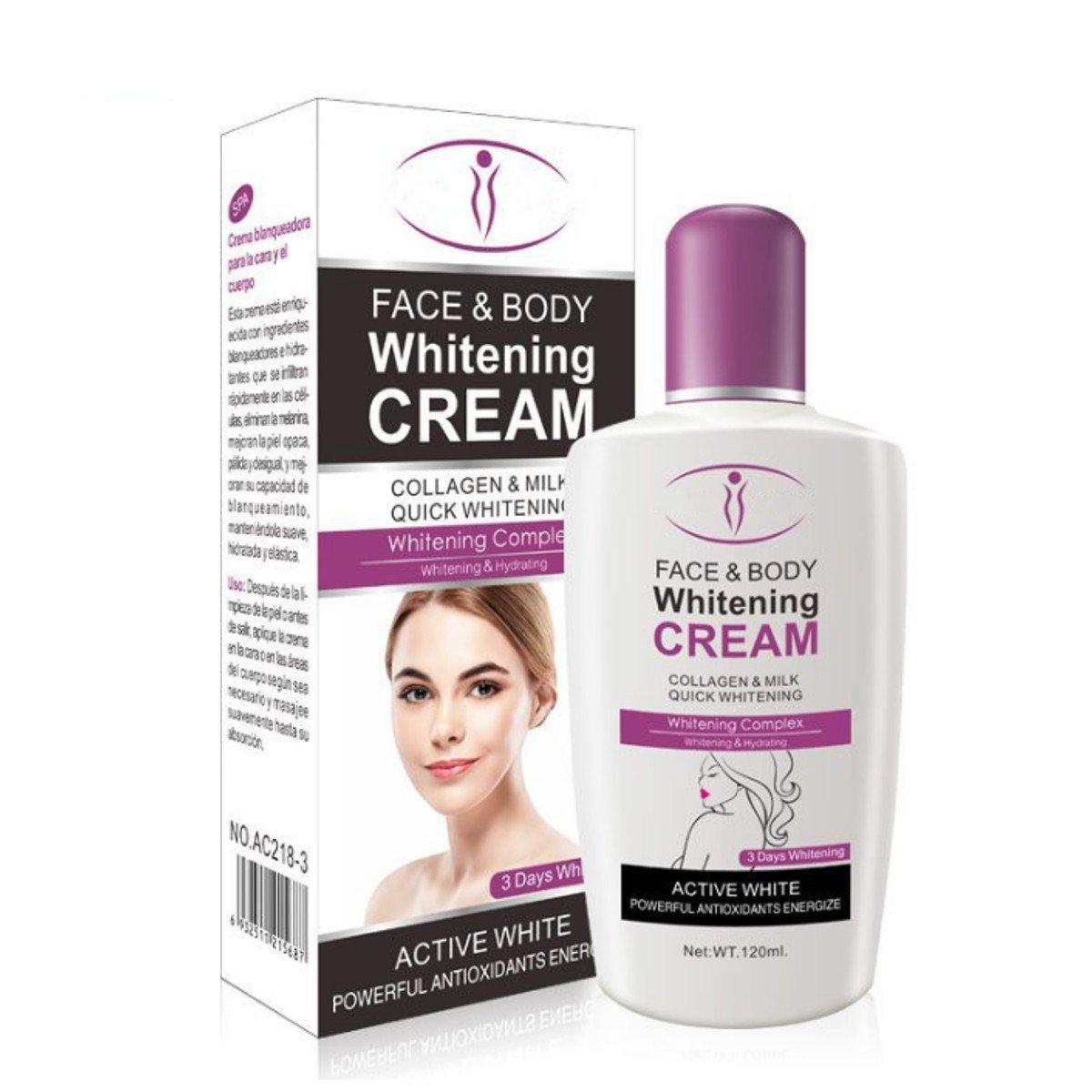 120ml Skin Whitening Cream for Body Face Dark Skin Bleaching Lotion Facial Cream Liann