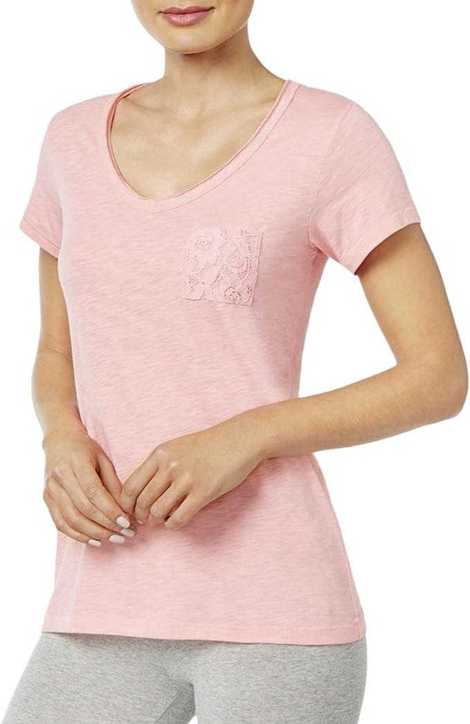 Jenni by Jennifer Moore Pink Soft Top Pajamas Sleepshirt Small//Medium