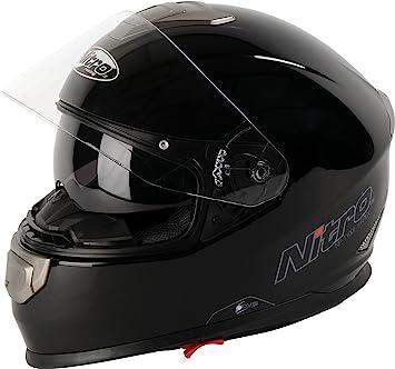 Nitro Casco Moto NP-1100 APEX, Negro, L