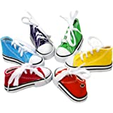 Birds LOVE 6 pk 1-Grommet only Mini Sneakers Shoes or Rubber Sandal Toys for Birds, Cats, Ferrets, Rabbits, Guinea Pigs…