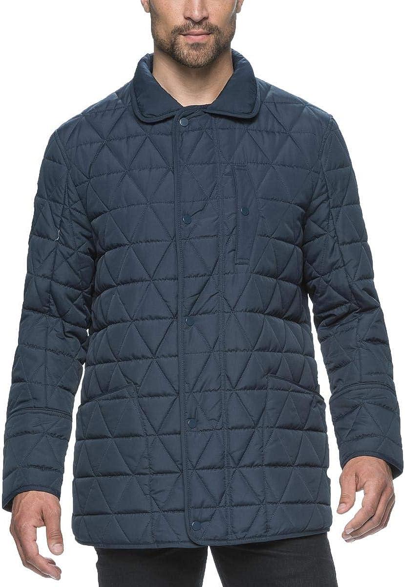 Marc New York Auburn Men/'s Big /& Tall Water Repellent Quilted Field Coat