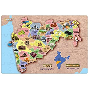 Zigyasaw Maharashtra Map Giant Jumbo...