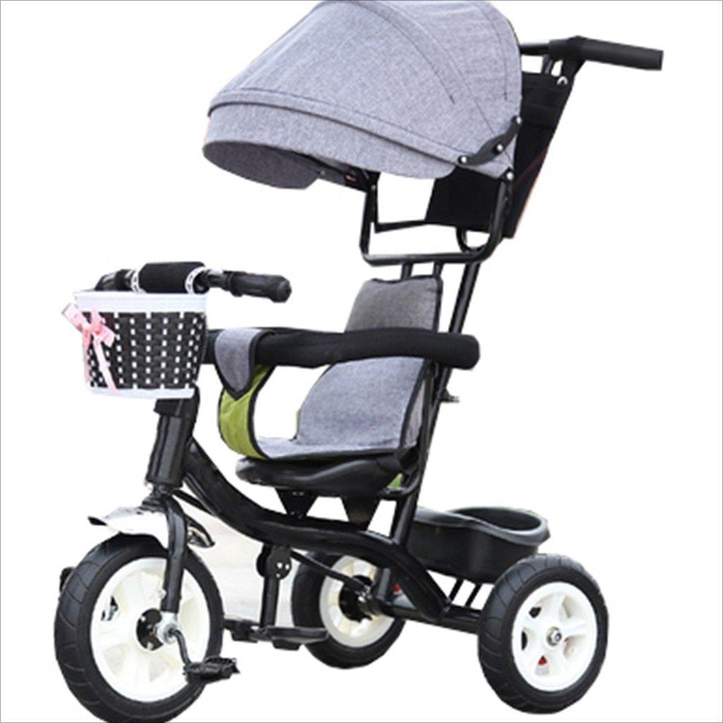 子供の屋内屋外の小さな三輪車自転車の男の子の自転車6ヶ月6歳の赤ちゃんの三輪車の女の子の自転車三輪トロリー天井、ゴムホイール (色 : 14) B07DVD8641 14 14