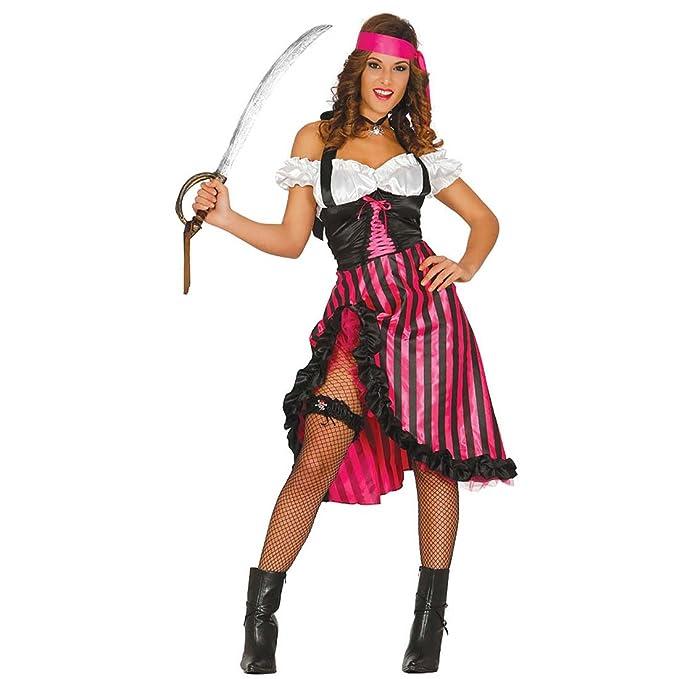 Traje Novia Pirata Disfraz Pirata Mujer M 38/40 Vestimenta ...