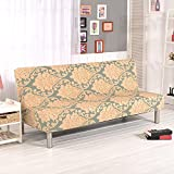 Printed Stretch Couch Loveseat Chair Cover Sofa Slipcovers Protector No Armrest Sofa Slipcovers