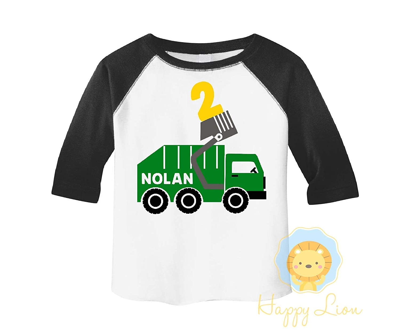 Pirate Birthday Party shirt for Boys 3//4 sleeve raglan Happy Lion Clothing