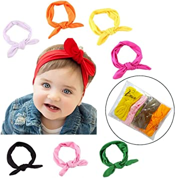 3pcs Kid Girl Baby Toddler Bow Headband Hair Band Accessorie fh