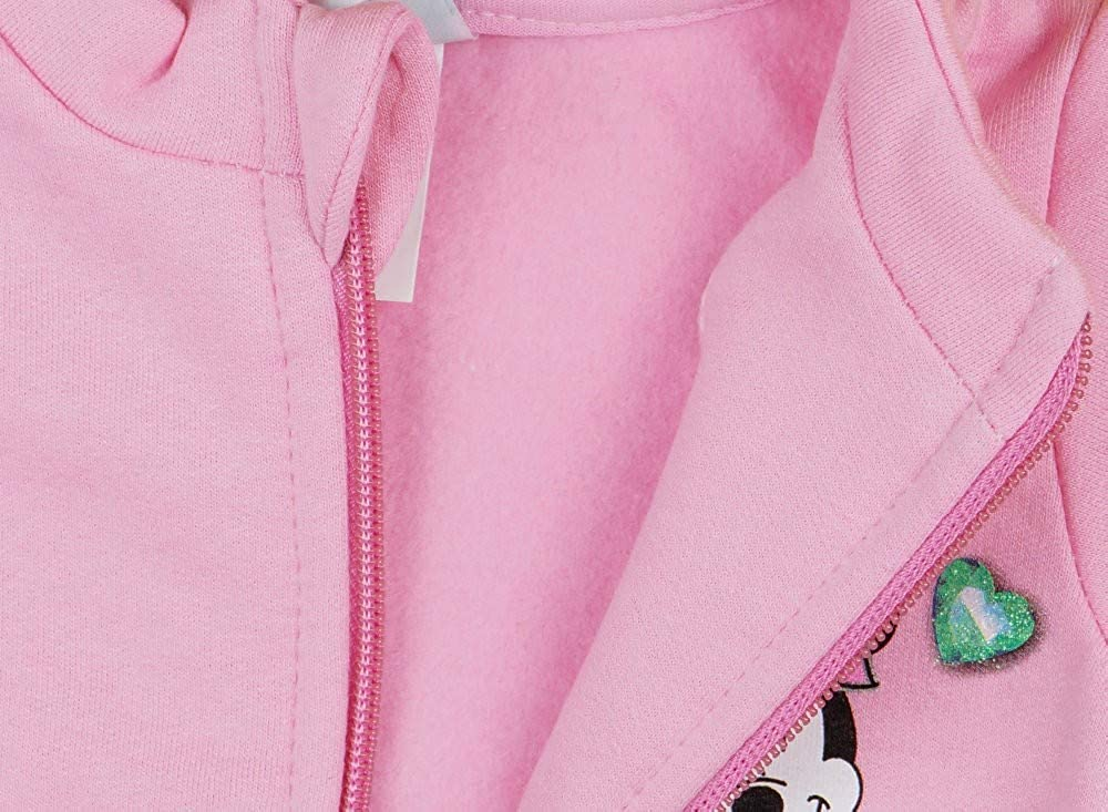 Minnie Mouse Freizeitjacke Baby M/ädchen Sweat-Jacke Mantel aus Baumwolle von der Disney Baby Kollektion