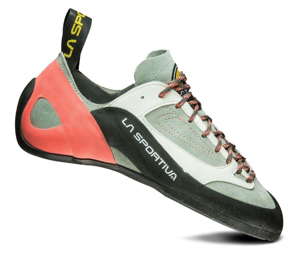 La Sportiva Finale Climbing Shoe - Women's Grey / Coral 40