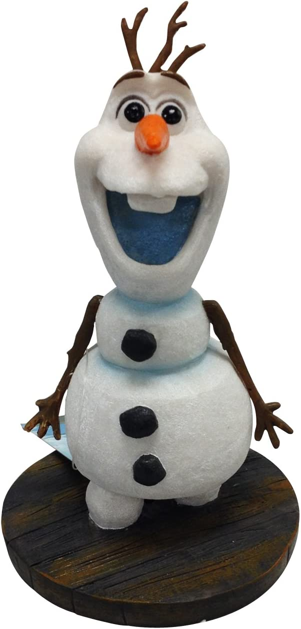 Penn-Plax Officially Licensed Disney's Frozen Mini Olaf Ornament: Instantly Create an Underwater Frozen Scene, Perfect for Fans of Disney's Frozen! Perfect for Fish Tanks and Small Aquariums! (FZR30)