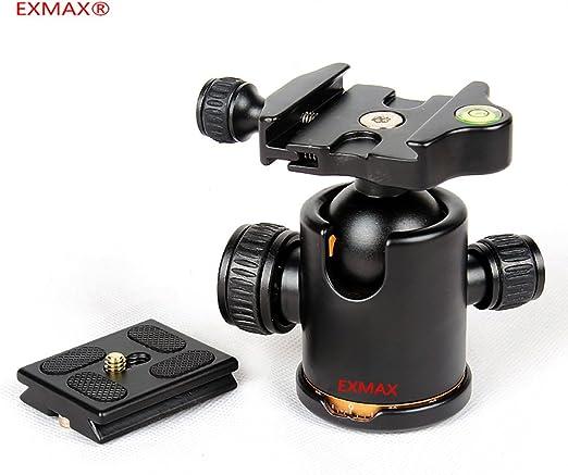 Cabezal de bola trípode EXMAX®, resistente, con doble rotación de ...