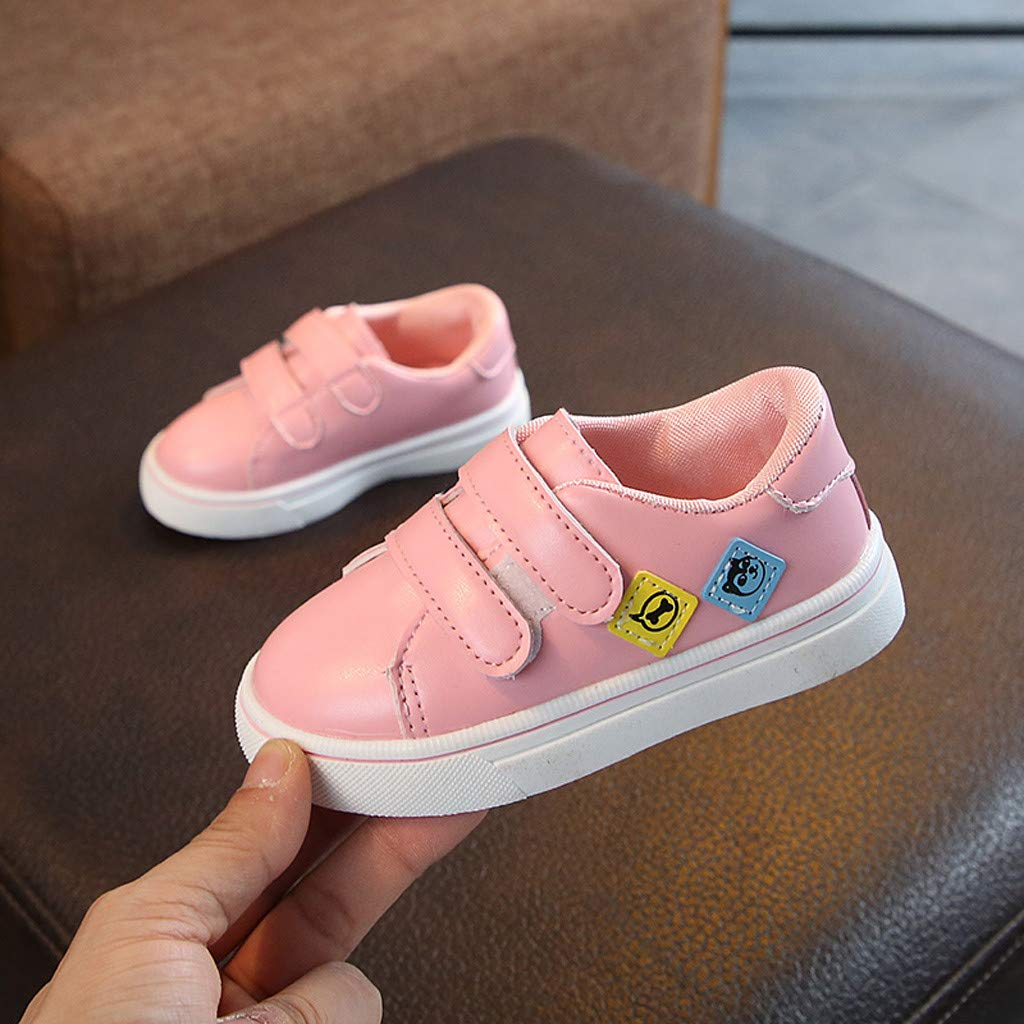 Kids Boys Girl Anti-Slip Flat Sports Shoes Run Casual Single Shoe Suma-ma Toddler Babys Cartoon Print Sneakers