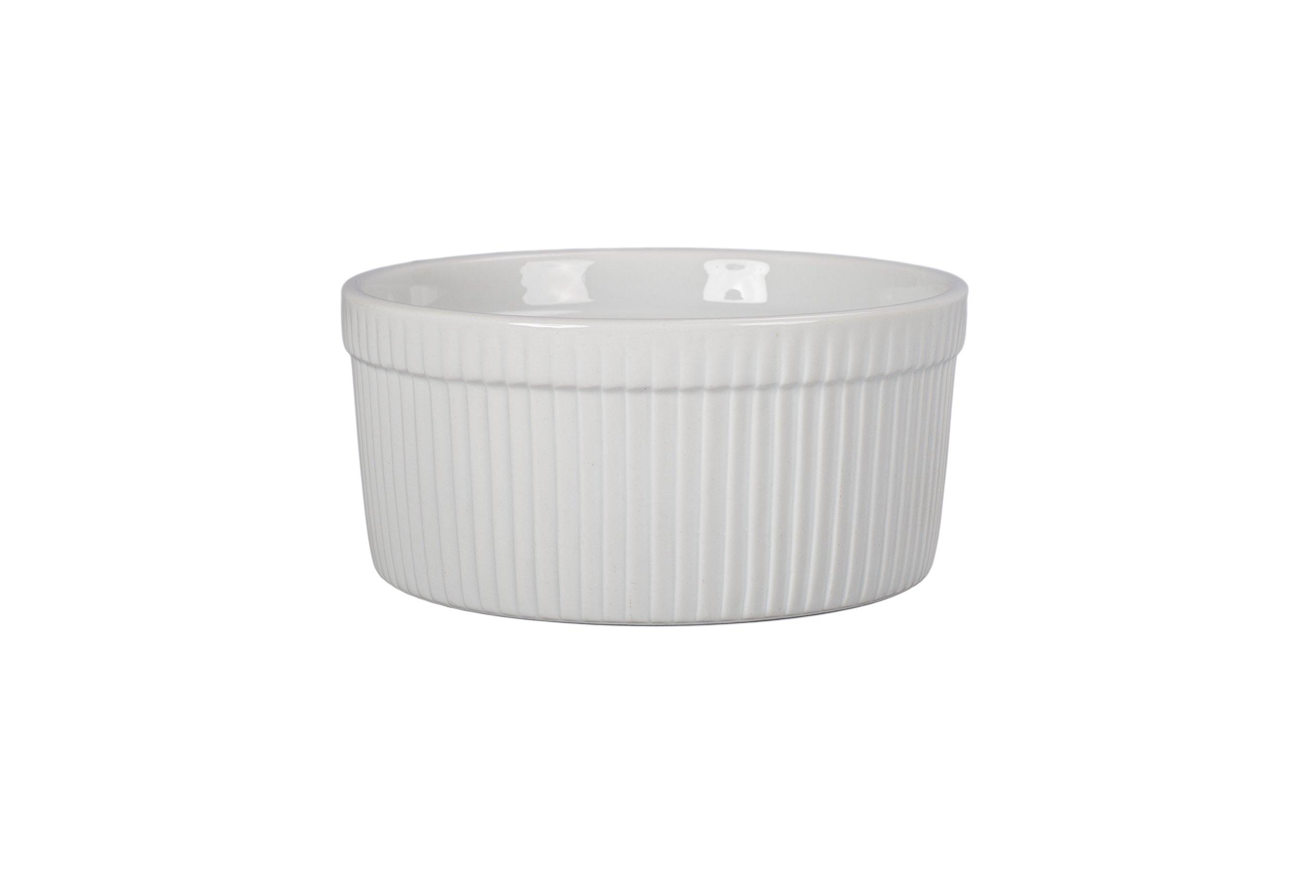 BIA Cordon Bleu 900017S1SIOC Classic Bakeware Souffle Dish, White