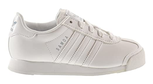Adidas Originals Men's White Silver Samoa Sneakers white Buying This Holiday