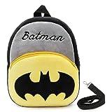 0b2d56de860 JCBD Upgraded Kids Toddler Plush Backpack with Safety Harness Leash -  Playful Preschool Kids Lunch Bag