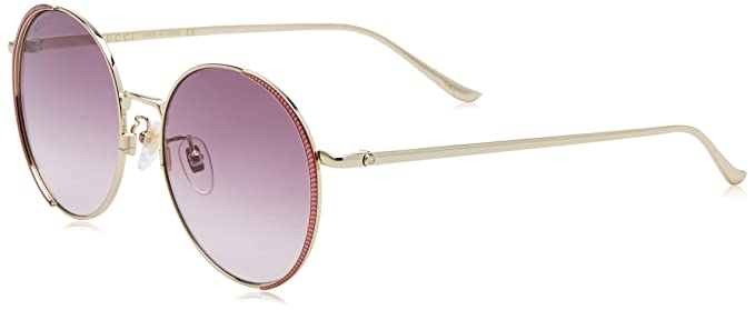 Amazon.com: Gafas de sol Gucci GG 0401 SK- 004 GOLD ...
