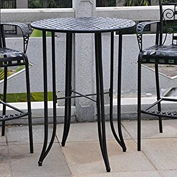 This Item Bar Height Patio Bistro Table