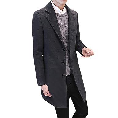 Mantel wolle lang