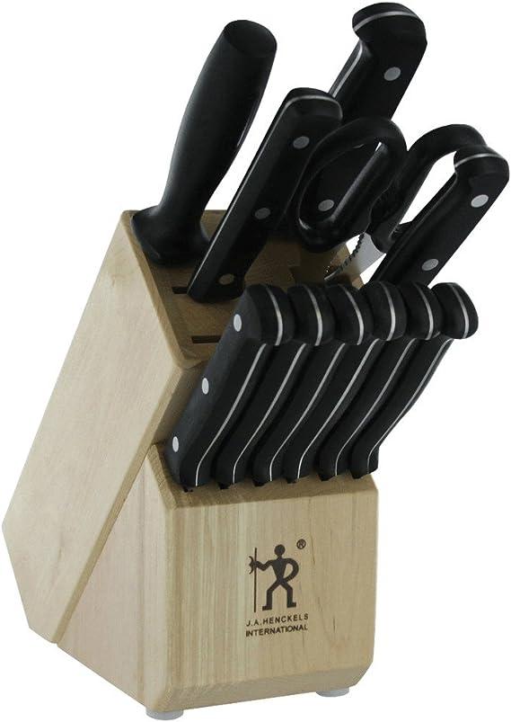 J.A. Henckels International 35345-012 Fine Edge Pro Knife Block Set