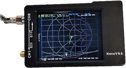 linjunddd Nueva Pantalla LCD De 2,8 Pulgadas Nanovna-h Hf VHF ...