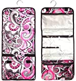 New Large Hanging Toiletry Cosmetic Travel Bag by TravelNut® Unique Summer Back to School College Dorm Supplies Essentials Gift Idea Best for Her Girlfriend niece girls women