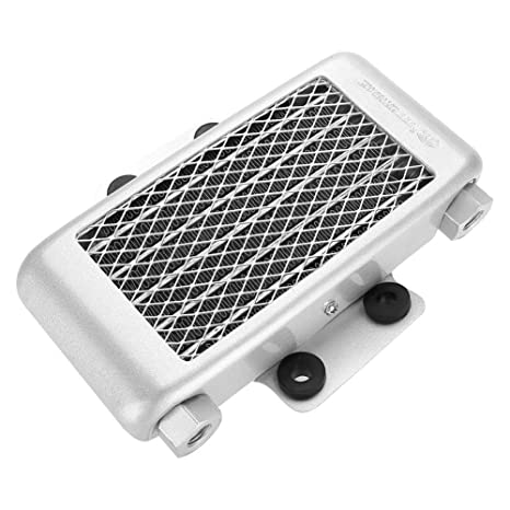 Amazon com: Keenso 65ml Aluminum Motorcycle Engine Oil Cooler Kit