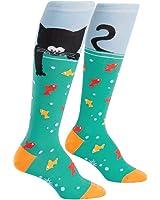 Sock It To Me Women's Knee High Funky Socks Animals