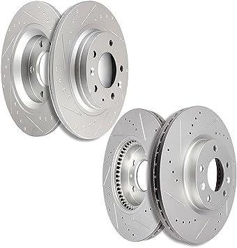 Rear Brake Rotors Ceramic Pads For 2006 2007 2008 2009 2010 2011-2015 Mazda 5