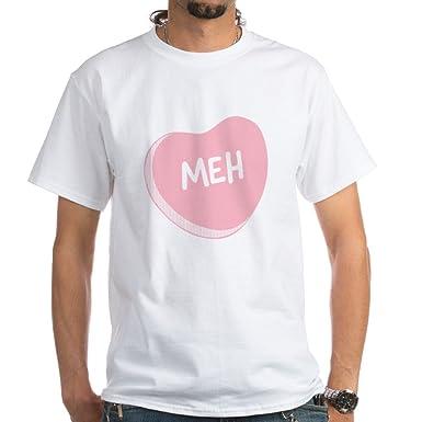 Amazon Com Cafepress Meh Anti Valentine S Day T Shirt 100 Cotton