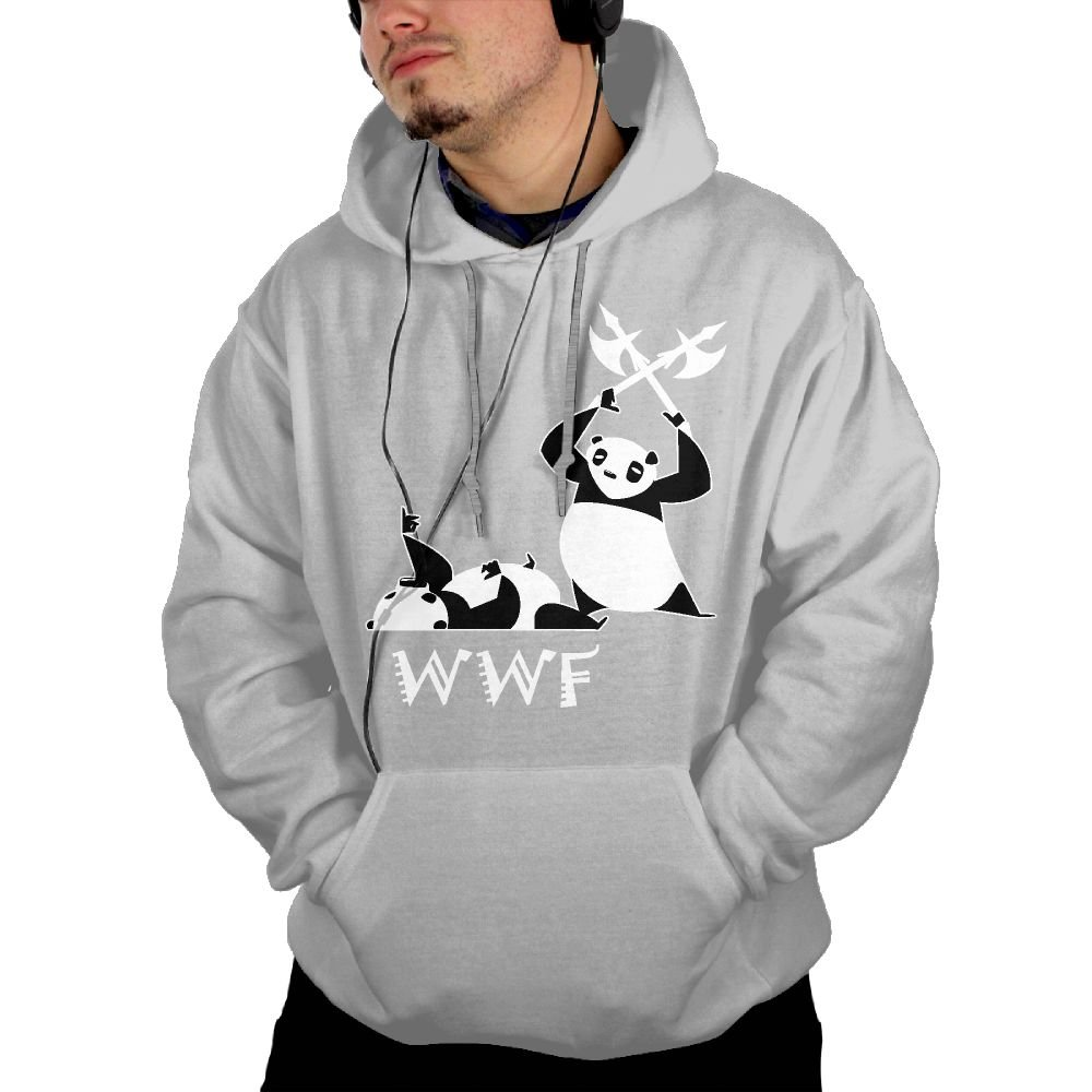 Angry Panda Bear Wrestling Man Nice Suit First Quality Hoody by NHTRGB
