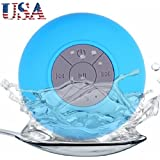 Bluetooth Shower Speaker With Rechargeable Waterproof and Portable With Mini USB Connection the Perfect Gift
