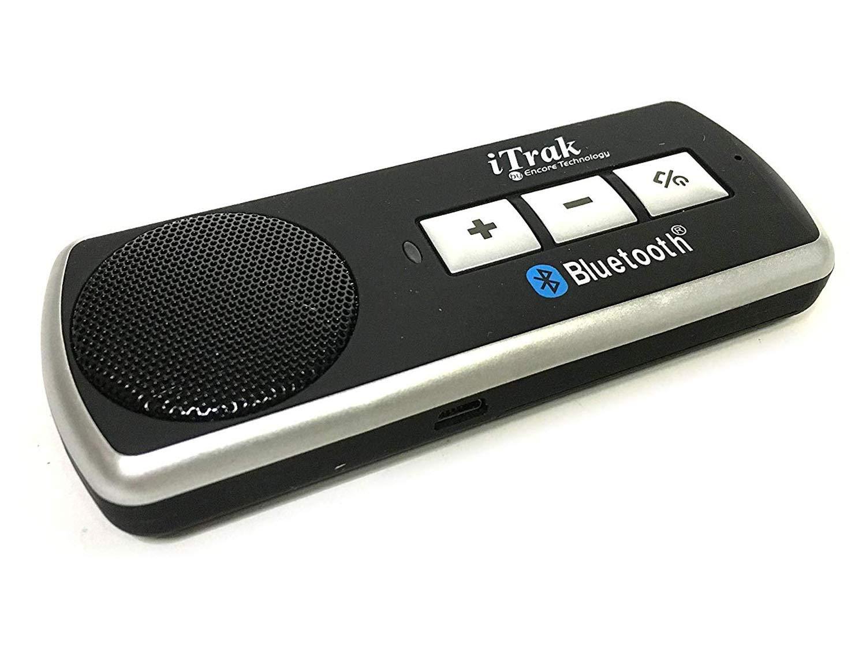 iTrak Sun Visor Bluetooth Multi Point Speaker Phone Car Kit BT3000MO Encore 4332950770