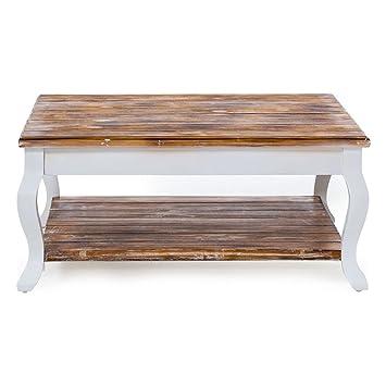 Pureday Miavilla Couchtisch Country Tisch Im Landhausstil Holz