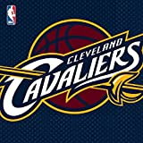 """Sports and Tailgating NBA Party Cleveland Cavaliers Luncheon Napkins Tableware, Paper, 6"""" x 6"""", Pack of 16"""