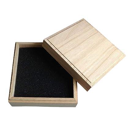 ECYC Caja De Madera PequeñA De Madera, Caja De Almacenamiento De Joyas para Regalo Small
