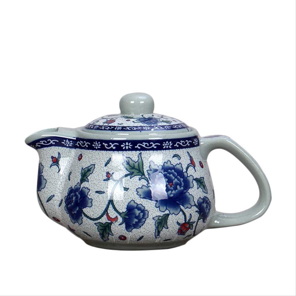 Ceramic Teapot Blue And White Porcelain Tea Pot 500ml Teapots Master Pu'er Kettle Container Kung Fu Teaware