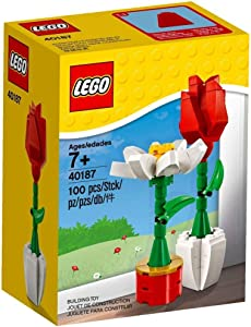LEGO Flower Display (40187) 100 Piece Set