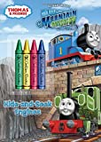 img - for Hide-and-Seek Engines (Thomas & Friends) (Color Plus Chunky Crayons) book / textbook / text book