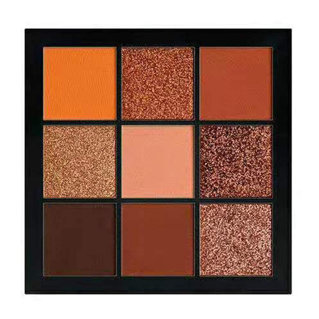 💗 Orcbee 💗 _Cosmetic Matte Eyeshadow Cream Makeup Palette Shimmer Set 9 Colors Eyeshadow