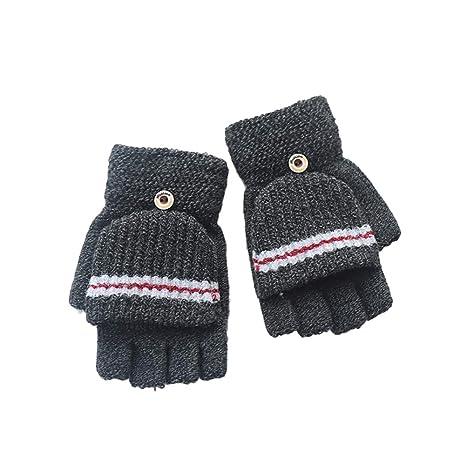 Amazon.com: Wansan - Guantes de punto de invierno, para bebé ...