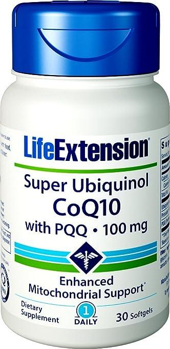 Life Extension Super Ubiquinol Coq10 with Biopqq Softgels, 30 Count: Amazon.es: Salud y cuidado personal