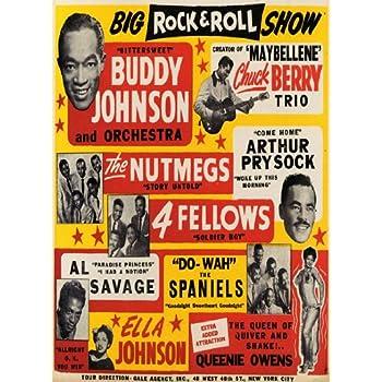 "AD66 Vintage 1950/'s Little Richard Concert Poster A3 17/""x12/"" Re-Print"