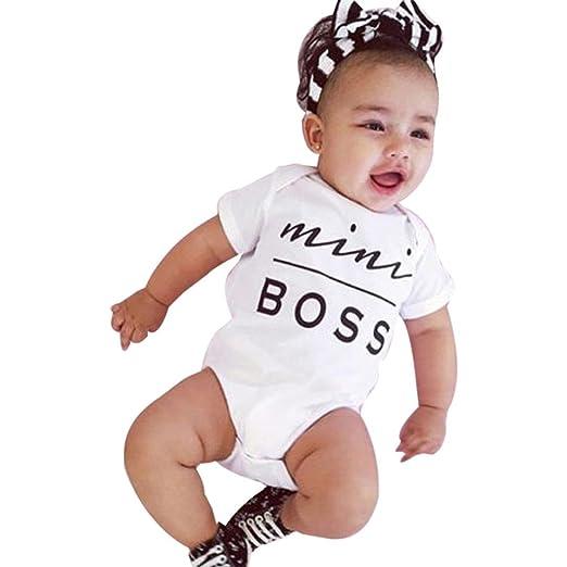 Newborn Kids Family Clothes Baby Boy Girl Bodysuit Romper Sleeveless  Jumpsuits (White ded42bb1f7e
