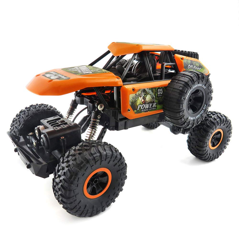 Sttech1 Off-Road RC Car for All Adults Kids, SL-135A RC Mode 1:14 Scale Radio 2.4GHz Remote Climbing Off-Road RC Car Fast Race (Orange)