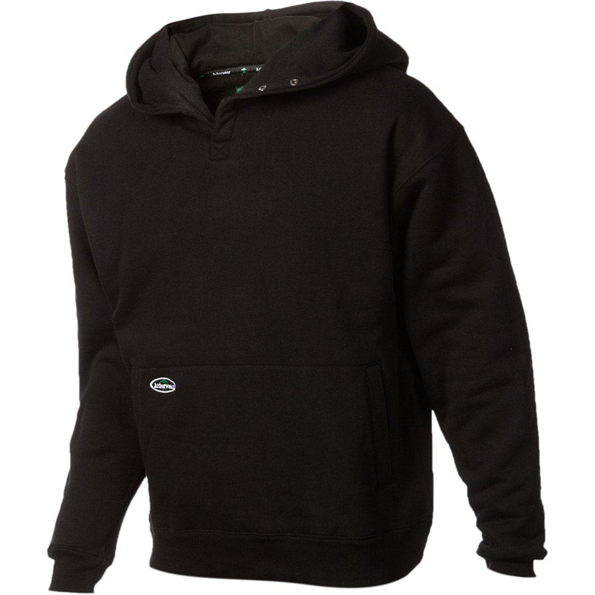 Arborwear Men's Double Thick Pullover Sweatshirt, Black, Small